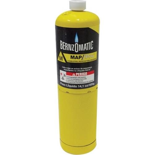 carga de gas mpp bernzomatic 400gr