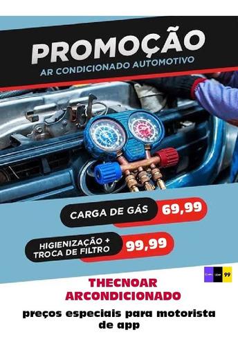 carga de gás r134a ar condicionado automotivo r$: 69,99