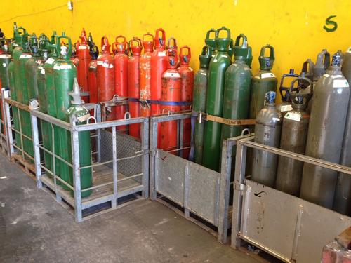 carga de nitrógeno-oxigeno-acetileno-argón-mix20-helio-etc