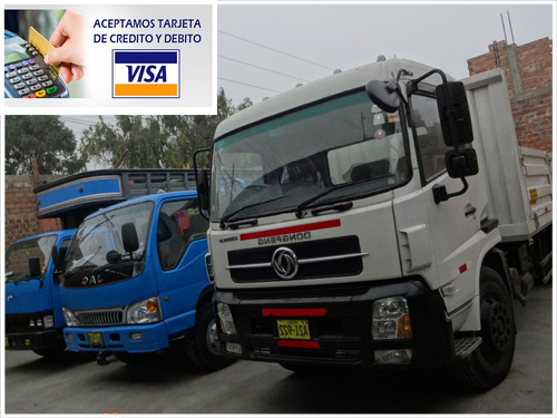 carga, flete, mudanza, reparto (hasta 30 tn)  aceptamos visa