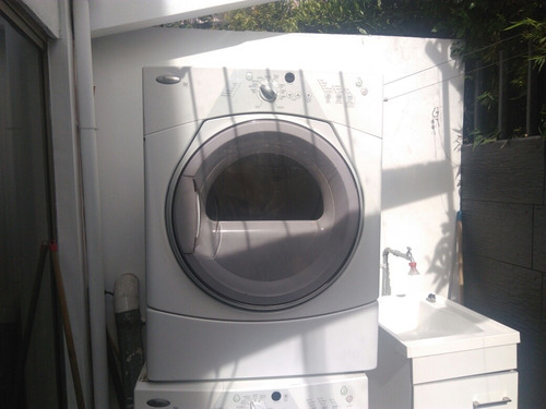 carga frontal gas secadora, whirlpool