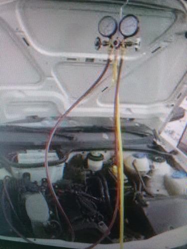 carga gas aire acondicionado r12 y r134-a original dupont.
