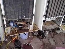 carga gas heladera service aire acondicionado reparación