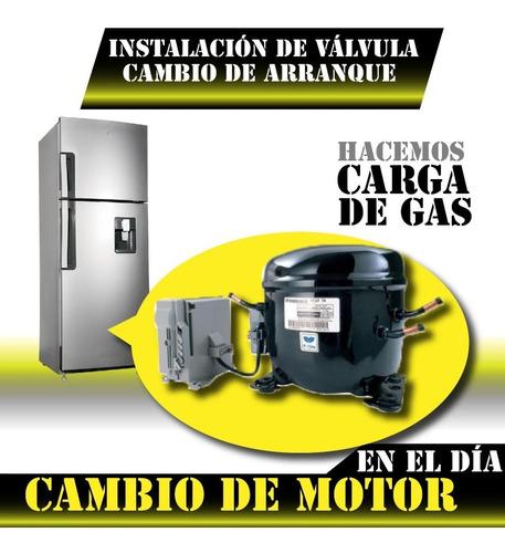 carga gas heladera tecnico service reparacion olivos munro