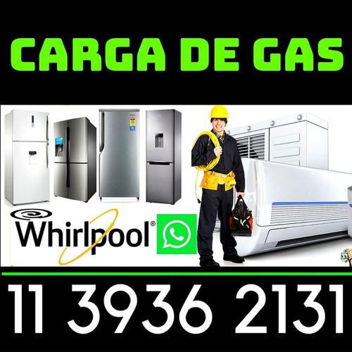 carga gas heladeras tecnico reparacion service aire 4