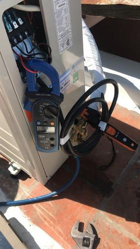 carga gas - refrigerante split y detección de perdidas!!!