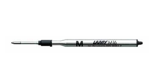 carga lamy esferográfica preta fina m16