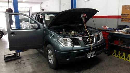carga recarga aire acondicionado automotor reparacion