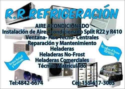 carga recarga  aire acond,split,ventana,reparacion heladeras
