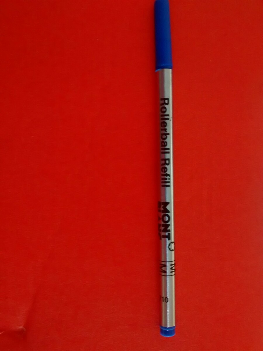 095d201040d Carga Refil Rollerball Azul Montblanc Made Germany - R  22