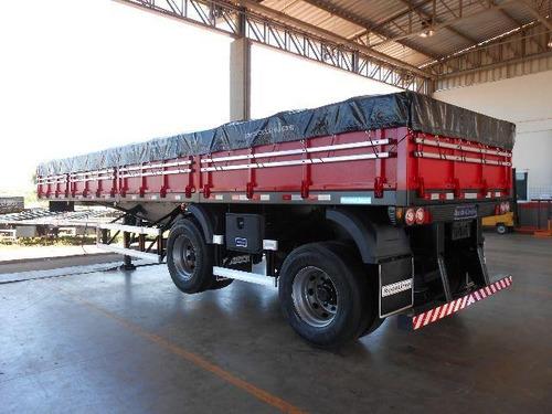carga seca 10,5 m 2 eixos - rodolinea - direto fabrica