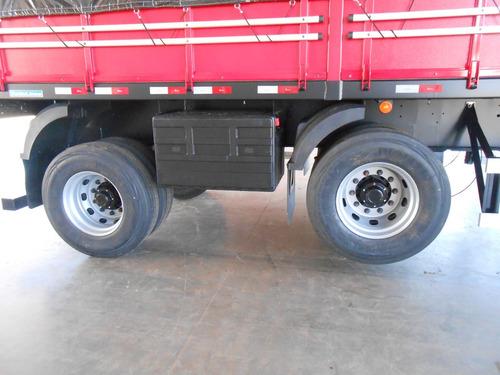 carga seca 10,5m 2 eixos - rodolinea - direto de fabrica