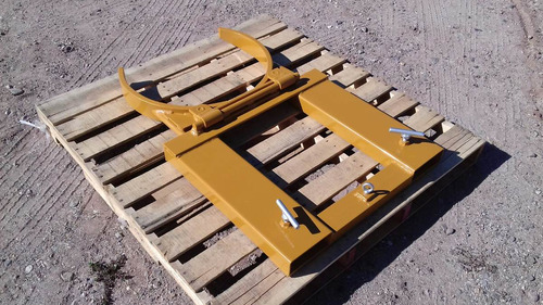 carga sujetador de tambo tambos tambor para montacargas