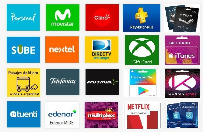 Carga Virtual Celulares Todas Las Empresas 130 Pesos -   170 720896ba62b
