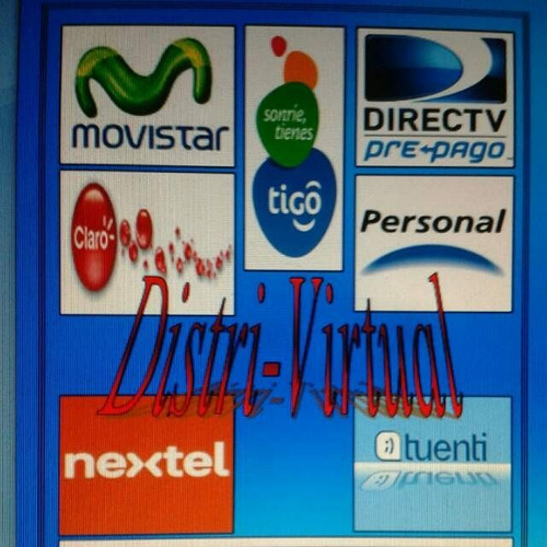 carga virtual-cobro de facturas y mas servicios de recargas