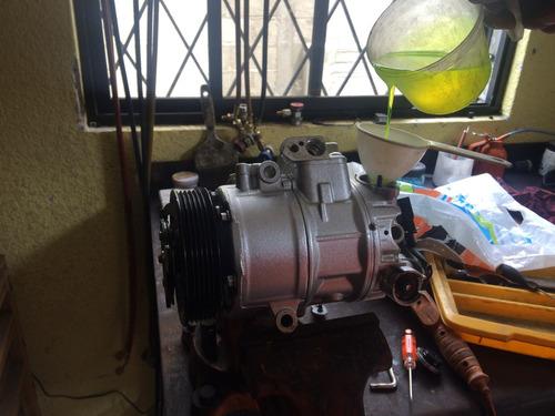 carga y recarga de gas aire acondicionado automotriz