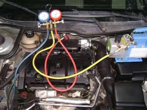 carga y reparaciòn de aires acondicionado para automotor,