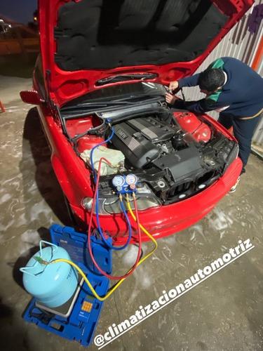 carga y reparación de aire acondicionado automotriz y calefa