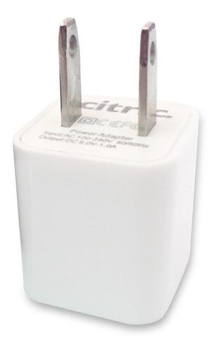cargador 3en1 ip6/ip4/micro usb blanco blister