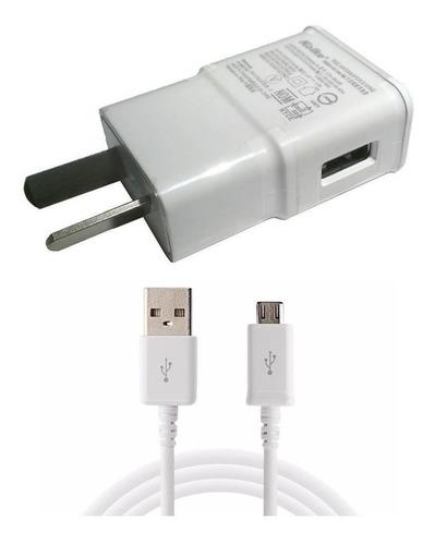 cargador 5v 2a cable usb samsung j1 j2 j3 j4 j5 j6 j7 pared