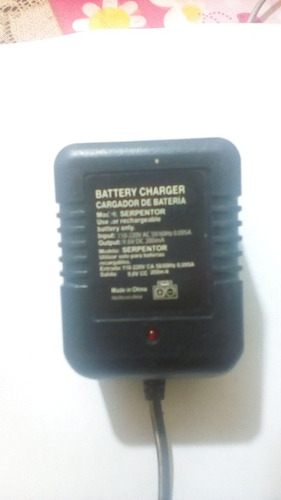 cargador 9.6v  serpentor