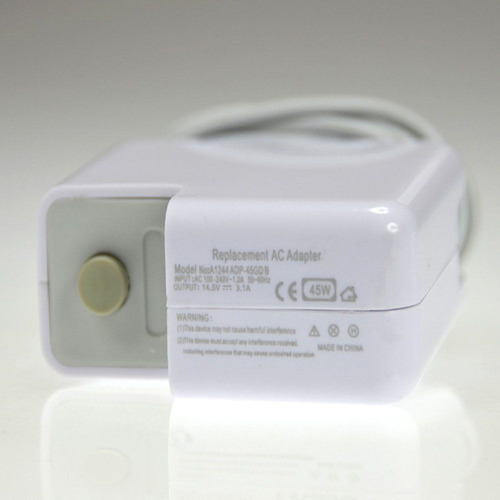 cargador ac 45w para 11  macbook air 2010 2011 a1370 a1369