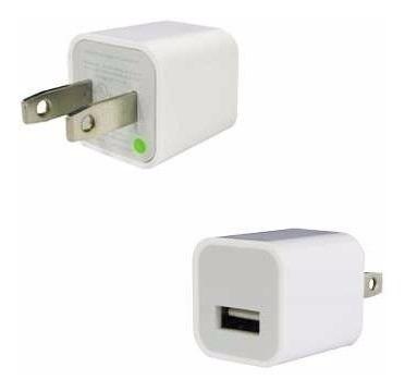 cargador adaptador iphone 7,6, 5s, 5, 4s, ipad 100% original