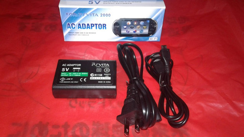 cargador adaptador para playstation ps vita 2000
