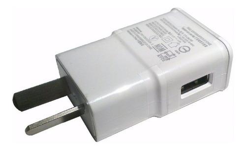 cargador adaptador usb 2 amper patas oblicuas para celular