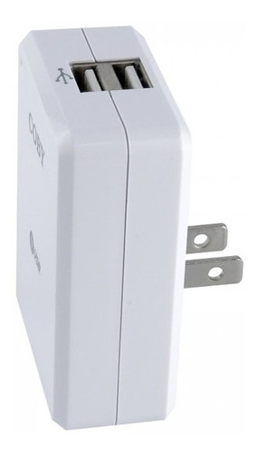 cargador adaptador usb coby original ca81 con garantia