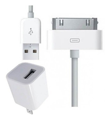 cargador adaptador usb  iphone 4/4s certificado