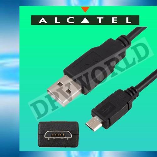 cargador alcatel original alcatel one touch + cable usb 1a