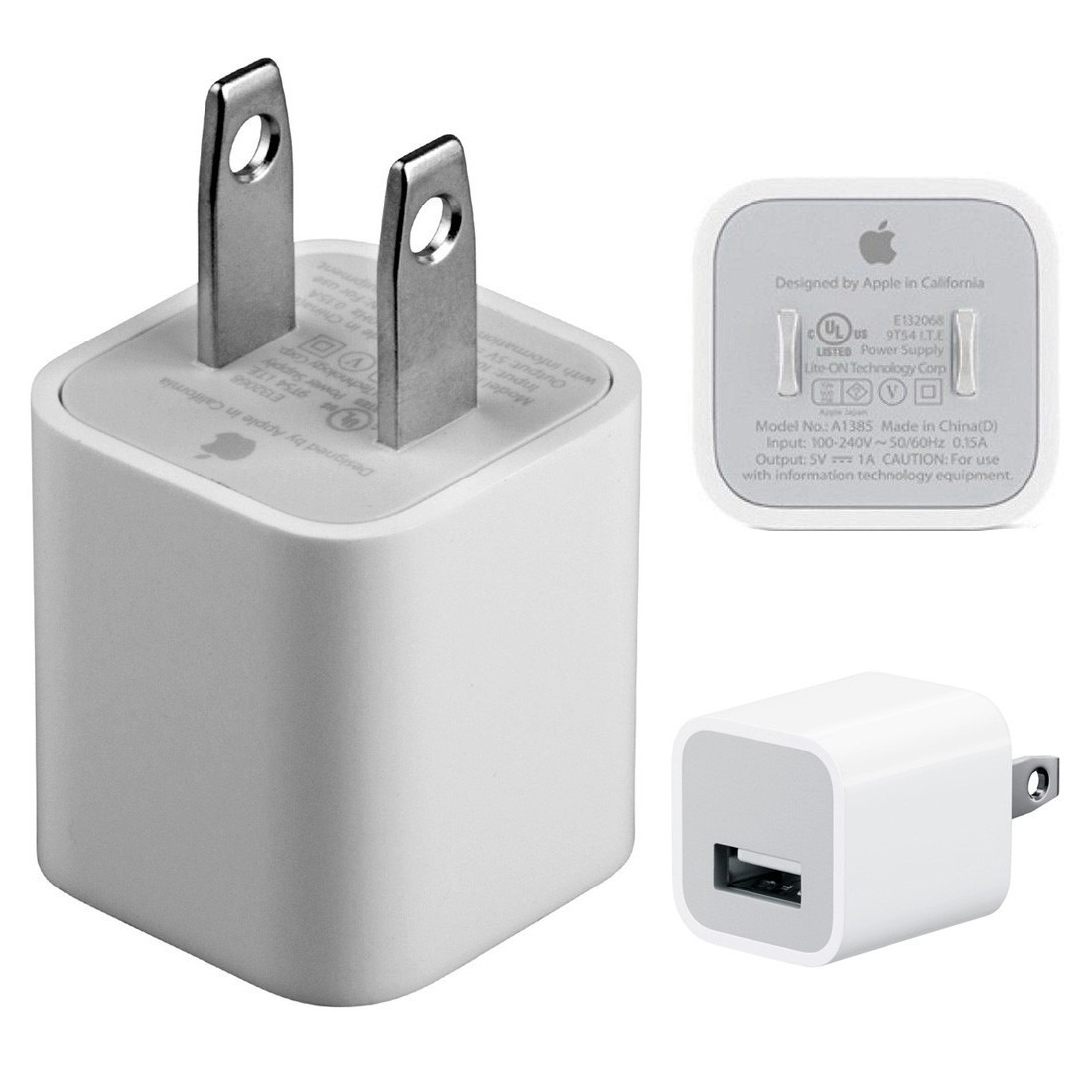 ad4c0f73e2a Cargador Apple iPhone 6 7 8 Plus Original 5w (a1444) + Usb - $ 699 ...