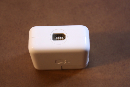 cargador apple mac original12v1amp ipod iphone ipad fireware