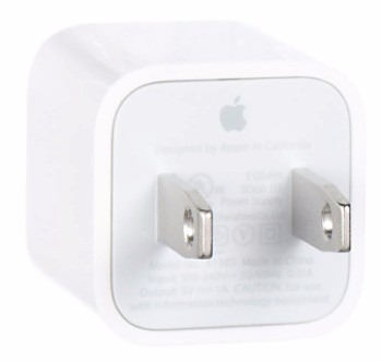 cargador apple original cubo 5w + cable 1mt iphone 5 5s 6 6s