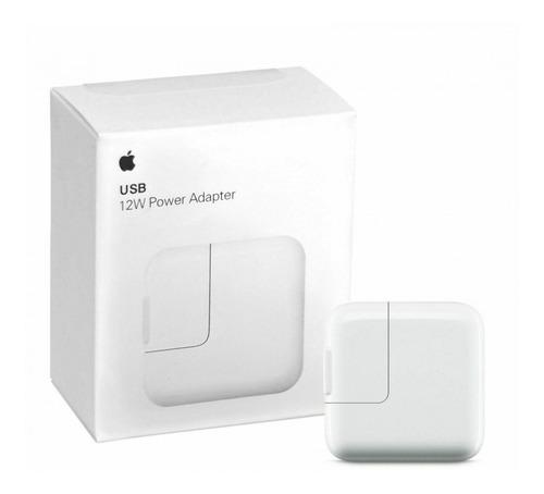 cargador apple original usb 12w ipad - iphone 7 8 x xs xr - power adapter