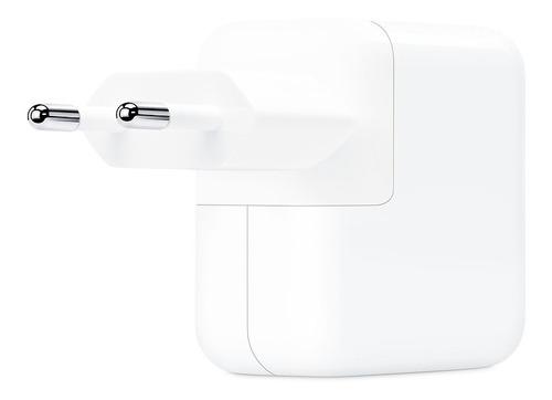 cargador apple original usb type c 30w con pd iphone ipad. power adapter - fast charging