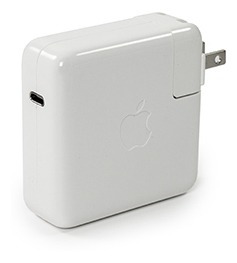 cargador apple original usb type c 61w pd iphone ipad macbook - power adapter , fast charging, power delivery
