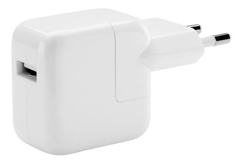 cargador apple usb 12w ipad - iphone 7 8 x xs xr - power adapter
