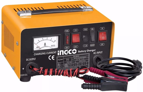 cargador arrancado de batería auto ingco 12/24v cb1601 - tyt