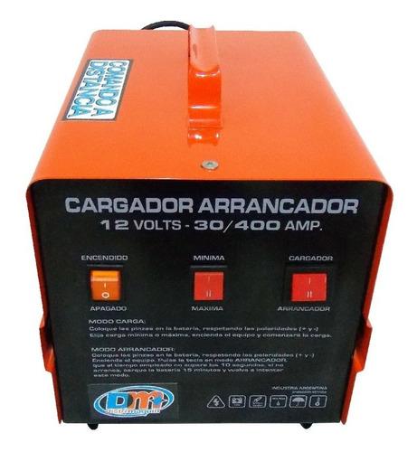 cargador arrancador 12 volts 30/400 amp. comando a distancia