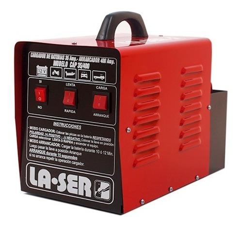 cargador arrancador baterias la-ser cap 35/400 12v 35amp