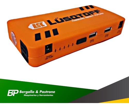 cargador arrancador de batería lusqtoff pi-300 10.000 mah
