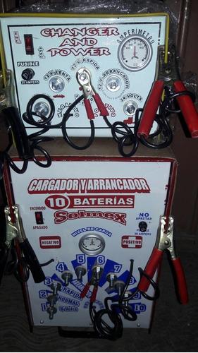 cargador, arrancador de baterias, acumulador de autos