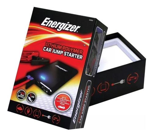 cargador arrancador energizer auto moto litio bank power kit