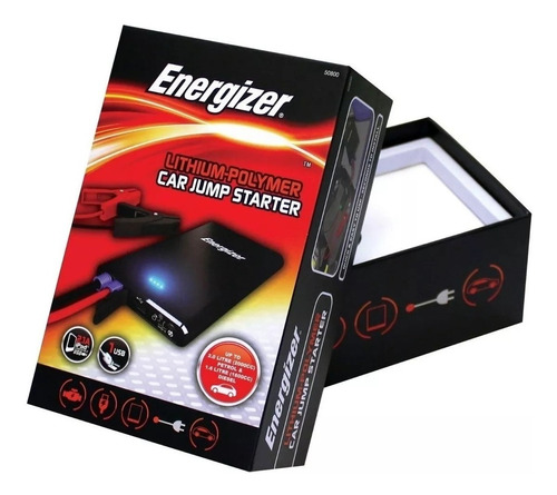 cargador arrancador energizer auto moto portatil bank power