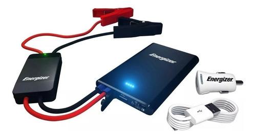 cargador arrancador energizer auto moto portatil bank power
