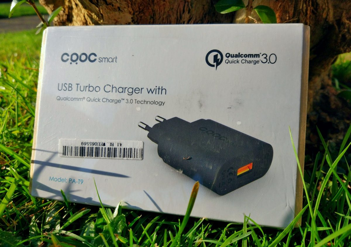 Cargador Aukey Usb Turbo Charger Quick Charge 30 21990 En Pa T9 With Cargando Zoom