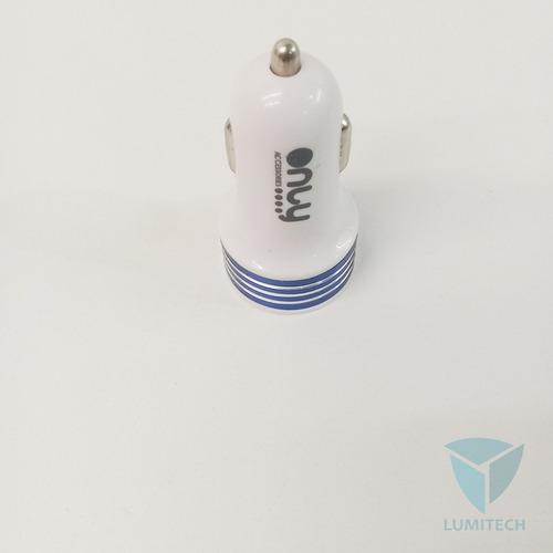 cargador auto - 12v / 2 x usb - only - mod004