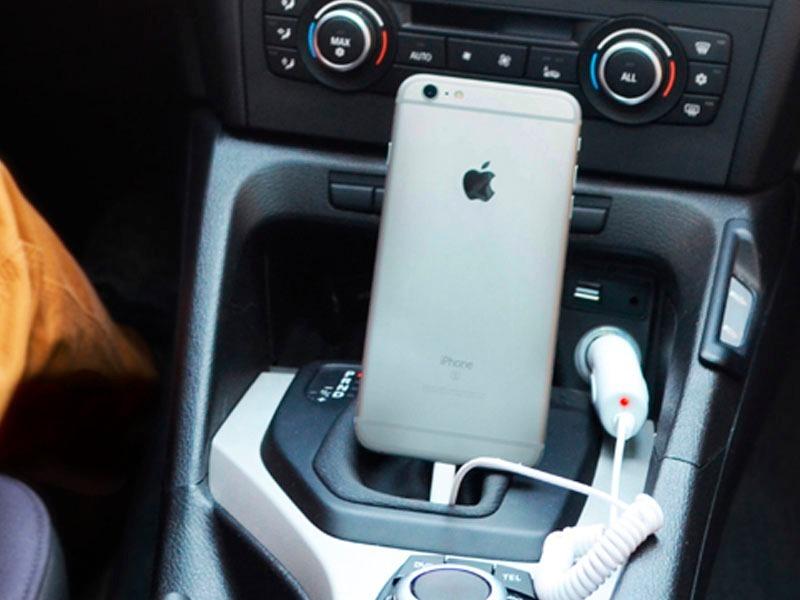 f6f2011be18 cargador auto 12v para iphone 5 - 5s - 6 6 plus 7 lightning. Cargando zoom.